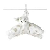 Little Giraffe Luxe Dot Sleepy G Plush Toy Pillow - Blue