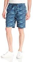 UNIONBAY Men's Printed Pull-On Shorts