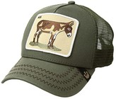 Goorin Bros. Brothers Animal Farm Snap Back Trucker Hat (Black Rooster) Caps