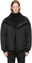 Issey Miyake Black Down Washer Short Jacket