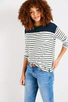 Jack Wills Chicheley Oversized Breton Top