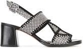 Robert Clergerie Proche sandals - women - Cotton/Leather - 37