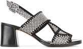 Robert Clergerie Proche sandals - women - Leather/Cotton - 37