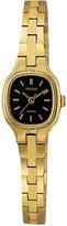 Pulsar Women's Dress Gold-Tone Stainless Steel Bracelet Watch 16mm PPH552