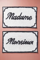 Anthropologie Monsieur & Madame Bath Mats, Set of 2