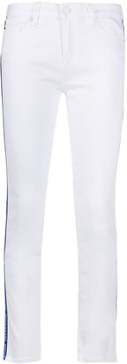 Love Moschino Logo-Trimmed Skinny Jeans