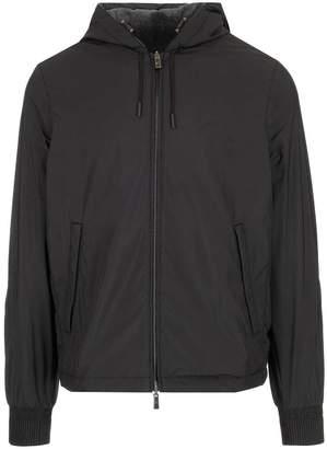 Ermenegildo Zegna Reversible Hooded Lightweight Jacket