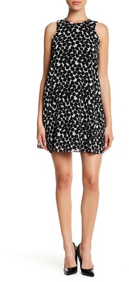 Calvin Klein Sleeveless A-Line Dress (Petite)
