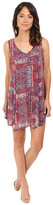 Brigitte Bailey Shelby Uneven Hem Printed Dress
