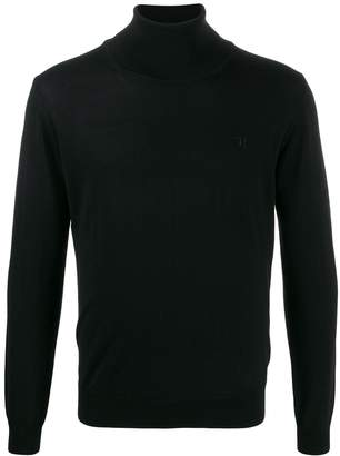Trussardi Jeans turtleneck relaxed-fit jumper