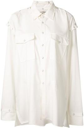 Maison Mihara Yasuhiro Two-Pocket Oversized Shirt