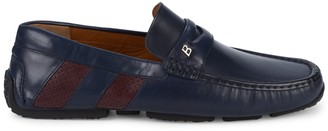 Bally Pierrick Leather Penny Loafers