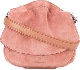 Jil Sander 'Micro Ridge' shoulder bag - women - Suede - One Size