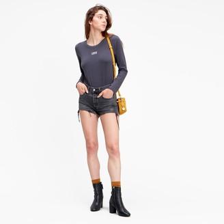 Levi's Long-Sleeved Logo Bodysuit