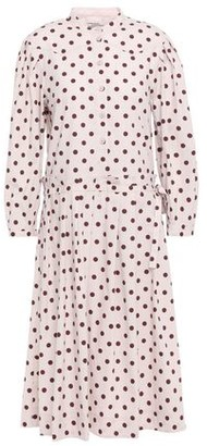 Baum und Pferdgarten Polka-dot Stretch-cotton Dress