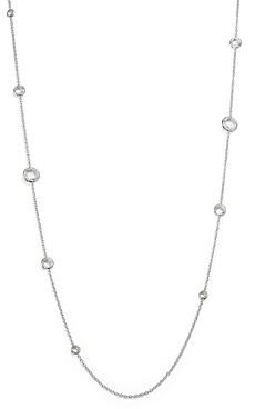 Ippolita Sterling Silver Rock Candy Lollipop Necklace in Clear Quartz