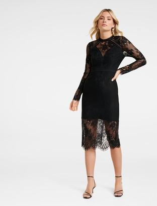 Ever New Rivka Lace Midi Dress