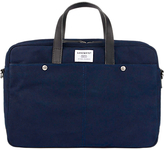 SANDQVIST Mats Wax Canvas Laptop Bag, Blue