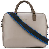 Furla shoulder strap laptop bag - men - Leather - One Size