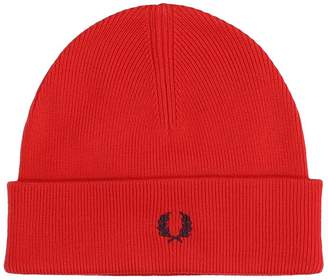 Fred Perry Hats In Red Wool