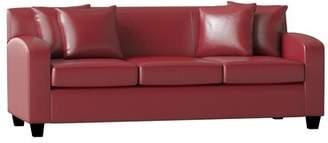 Piedmont Furniture Hazel Sofa Piedmont Furniture Body Fabric: Bulldozer Lightning, Pillow 1 Fabric: Bargello Graphite, Pillow 2 Fabric: Shibori Sol Greystone