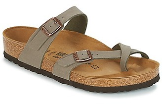 Birkenstock MAYARI women's Mules / Casual Shoes in Grey