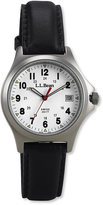 L.L. Bean Men's Classic Field Watch, Stainless Steel