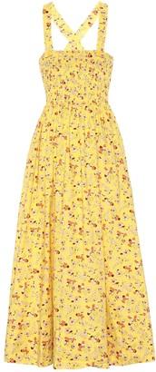 Polo Ralph Lauren Floral cotton midi dress