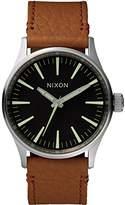 Nixon Unisex Watch Analogue Quartz Leather A377486