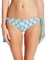 Next Women's Go with The Flow Tubular Tunnel Side Bikini Bottom with Upf 50