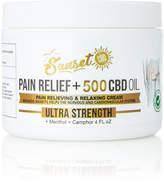 Sunset Cbd Ultra-Strength Pain Relief Cream, 4 oz./ 120 mL