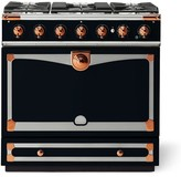 Williams-Sonoma Williams Sonoma Cornue Fe Albertine Dual-Fuel Range Stove, Dark Navy