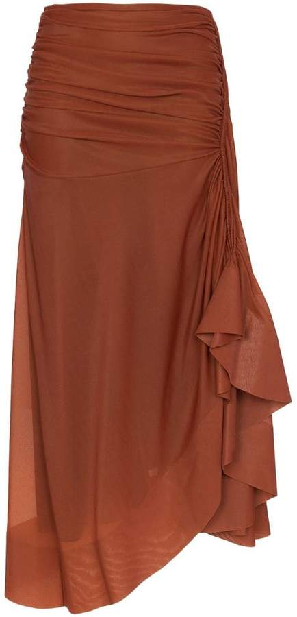 46202e3359 Side Drape Skirt - ShopStyle