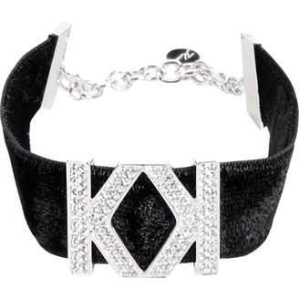 Karl Lagerfeld Paris Black Metal Bracelets