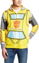 Transformers Men's Bumble Bee Costume Hoodie