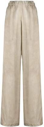 UMA WANG High Waisted Palazzo Trousers