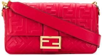 Fendi FF pattern Baguette crossbody bag