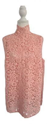 Miu Miu Pink Lace Tops