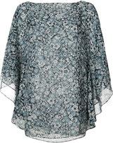 Michael Kors floral print top - women - Silk - XS