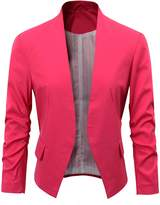 Benibos Women's Folding Sleeve Office Blazer (S, )