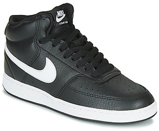 Nike COURT VISION MID women's Shoes (Trainers) in Black