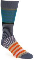 Paul Smith 'New Woven' Stripe Socks