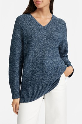 Everlane The Link-Stitch V-Neck Sweater