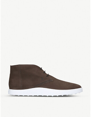 Tod's Cassetta Chukka leather trainers