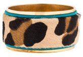 DSQUARED2 Leopard Pony Hair Bracelet