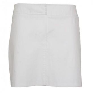 Burberry White Cotton Skirt for Women