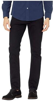 Mavi Jeans Jake Regular Rise Slim Leg in Black Williamsburg (Black Williamsburg) Men's Jeans