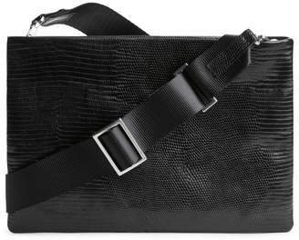 Arket Flat Crossbody Leather Bag