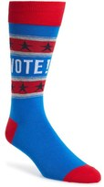 Hot Sox 'Vote' Socks (3 for $30)