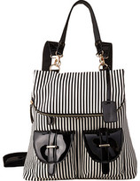 Gabriella Rocha Tonia Striped Backpack with Pockets